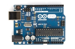 The Arduino Uno board